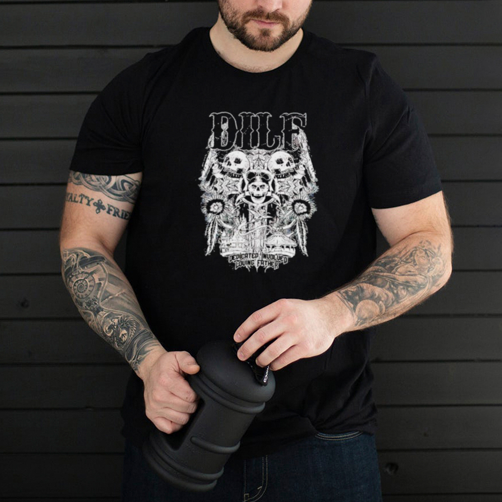 Difl Dedicated inuolved loving father shirt
