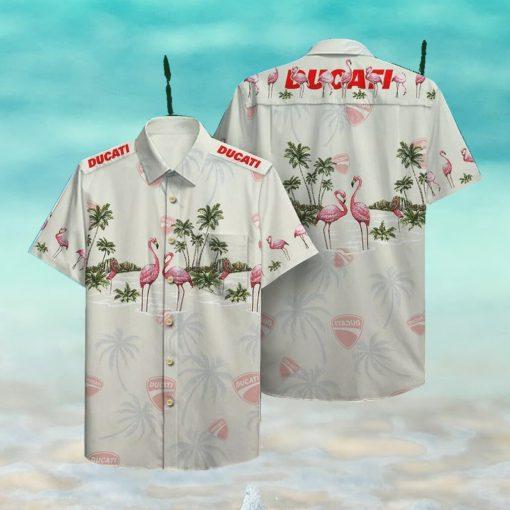 Ducati Hawaii Hawaiian Shirt Fashion Tourism For MenShirt