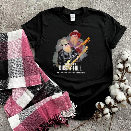 Dusty Hill Thank You For The Memories 1949 2021 shirt