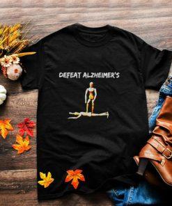 End Alz Awareness Alzheimers Sucks And Defeat Alzheimers T shirt