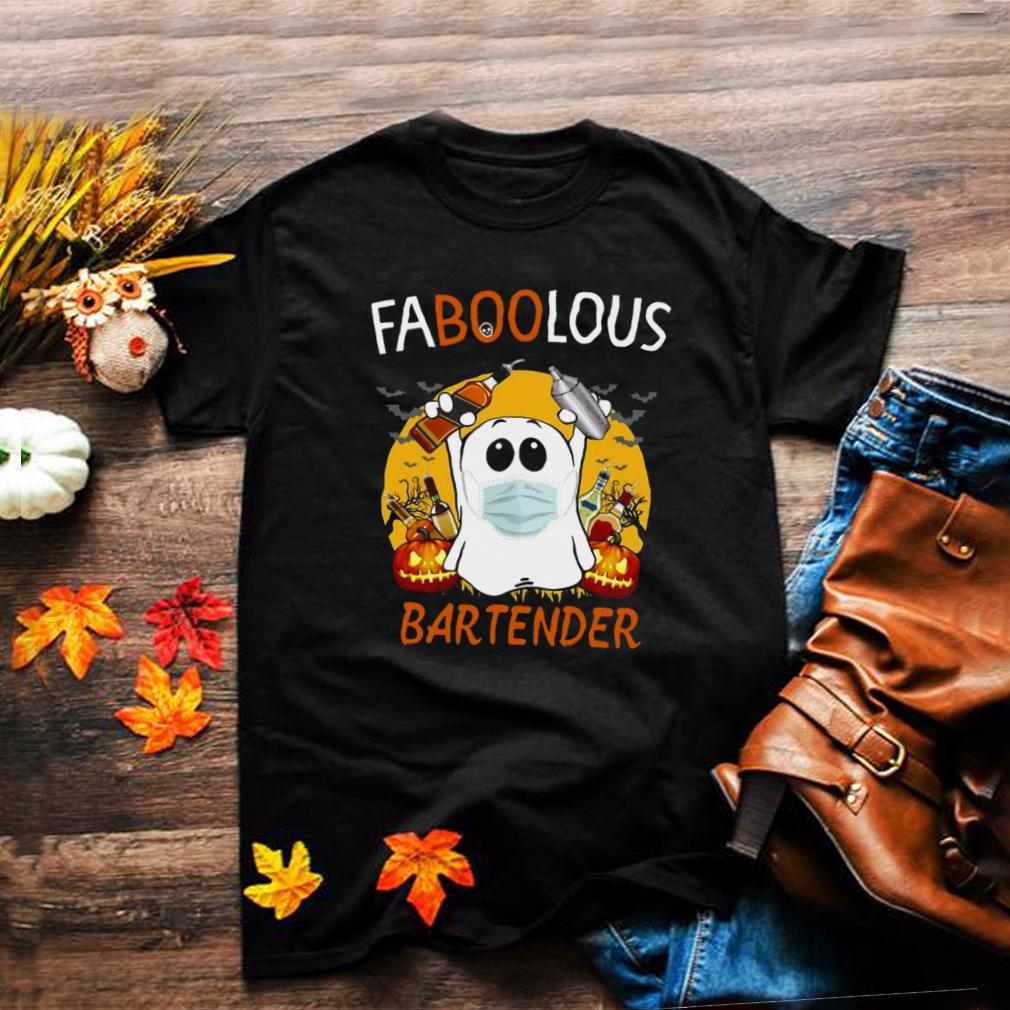 Faboolous Bartender Halloween Witch T shirt