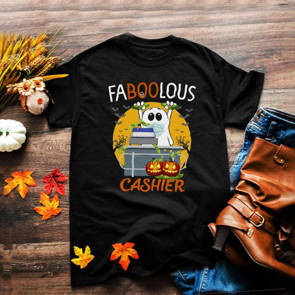 Faboolous Cashier Halloween Witch T shirt