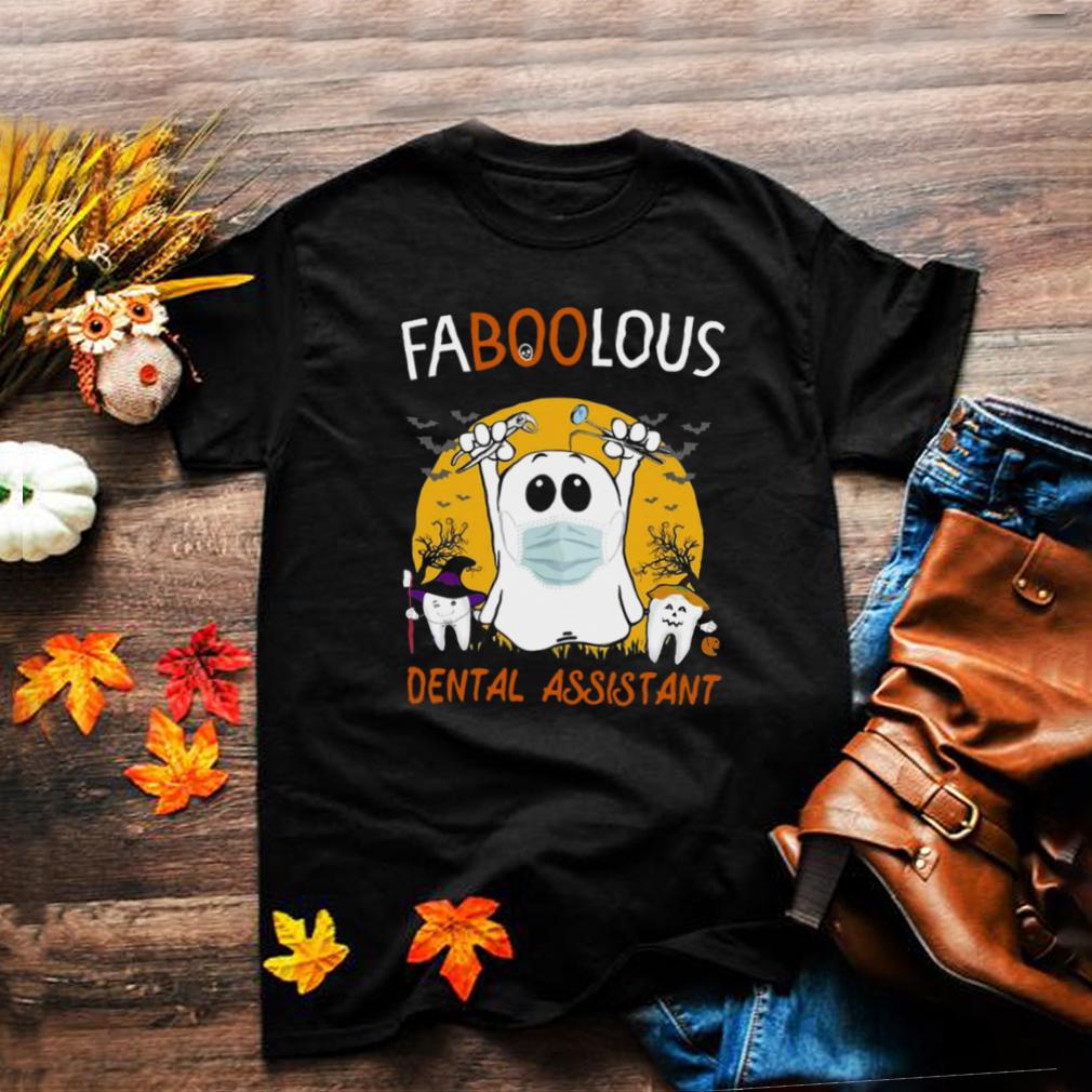 Faboolous Dental Assistant Halloween Witch T shirt