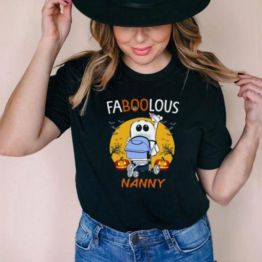 Faboolous Nanny Halloween Witch T shirt