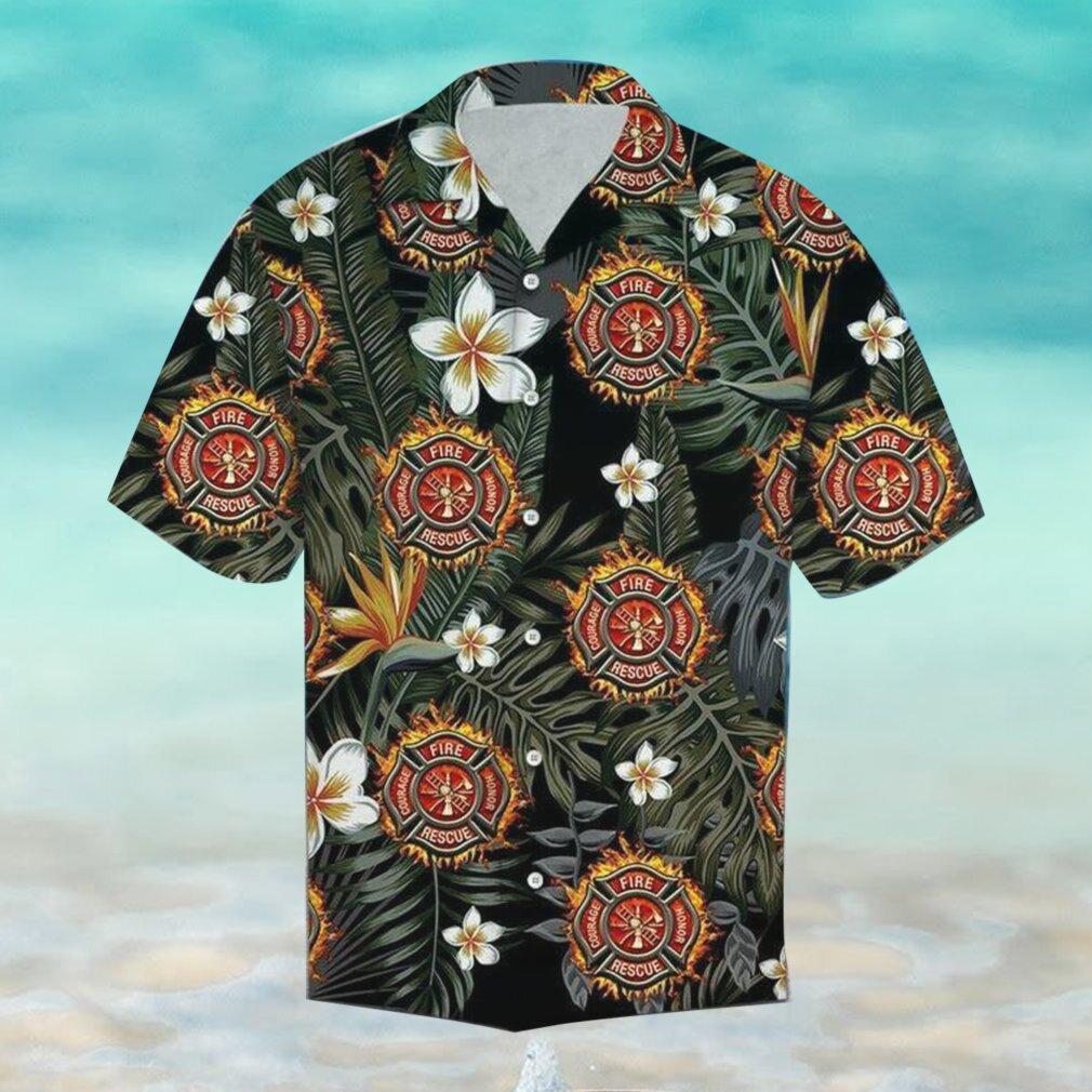 Firefighter Hawaii Hawaiian Shirt Fashion Tourism For Men, Women Shirt
