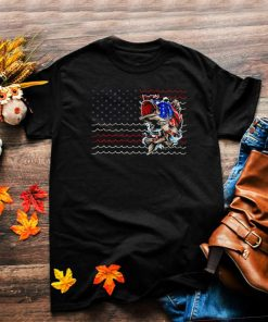 Fishing 4th Of July Collection life american flag shirt
