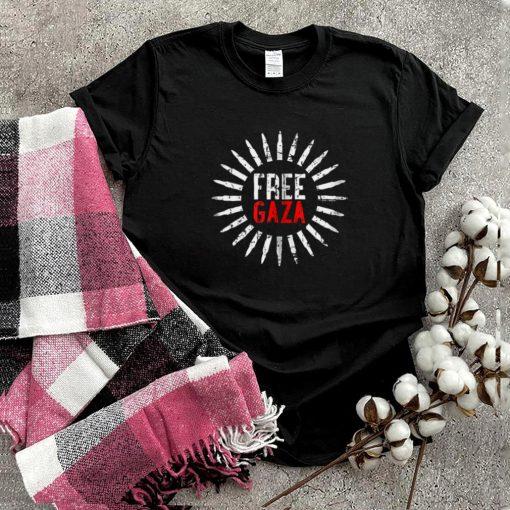 Free Gaza Stop For Killing Palestinian Stop This Terror Shirt
