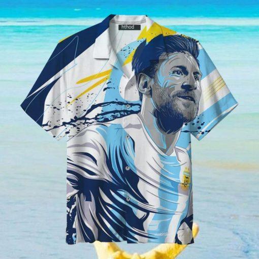 Goat Messi soccer King Hawaiian Shirts