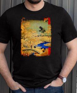 Godzilla and Meguro Drum Bridge Shirt