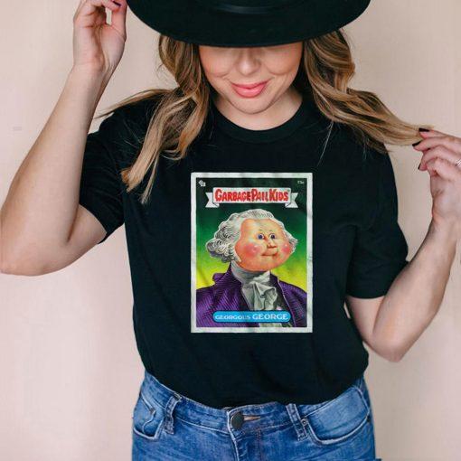 Gorgeous George Garbage Pail Kids T shirt