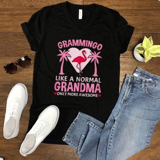 Grammingo for a Like A Grandma Awesome Grandma Only More Awesome T Shirt