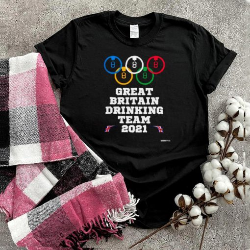 Great Britain Drinking Team Summer 2021 Olympic T Shirt