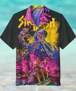Halloween Horror Street Trash Hawaiian Shirt