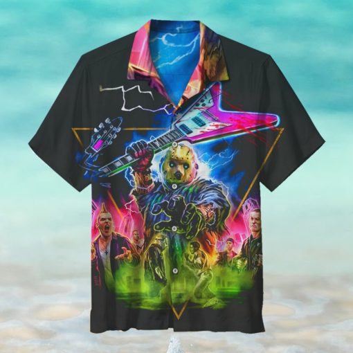 Halloween Rock and Roll Hawaiian Shirt
