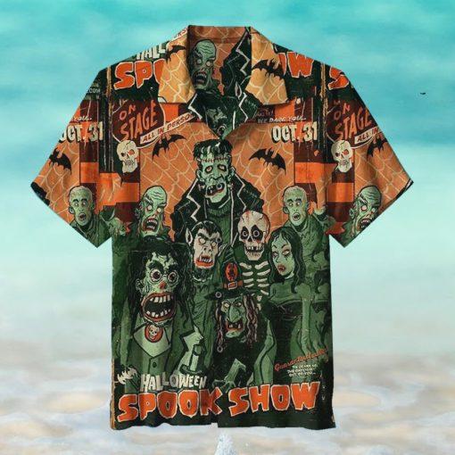 Halloween Spook Show Hawaiian Shirts