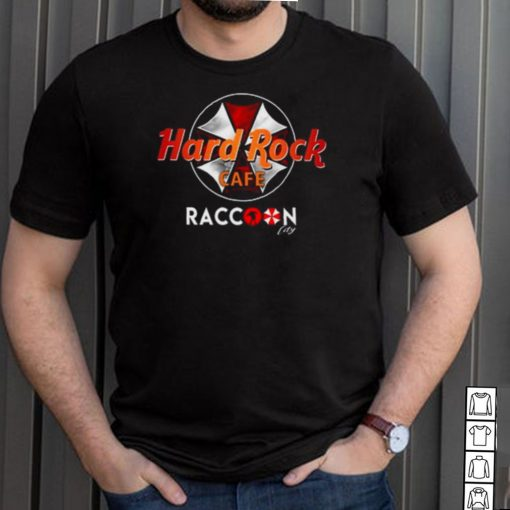 Hard Rock Cafe Rock Raccoon City shirt