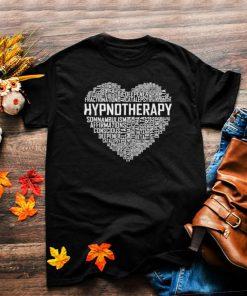 Hypnotherapy Heart Hypnotherapist Graduation T Shirt