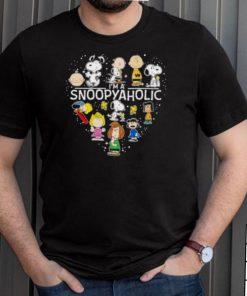Im A Snoopyaholic Heart Shirt