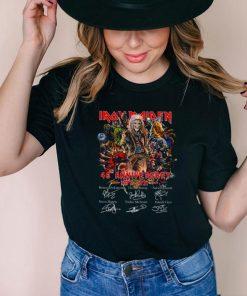 Iron maiden 46th anniversary 1975 2021 shirt