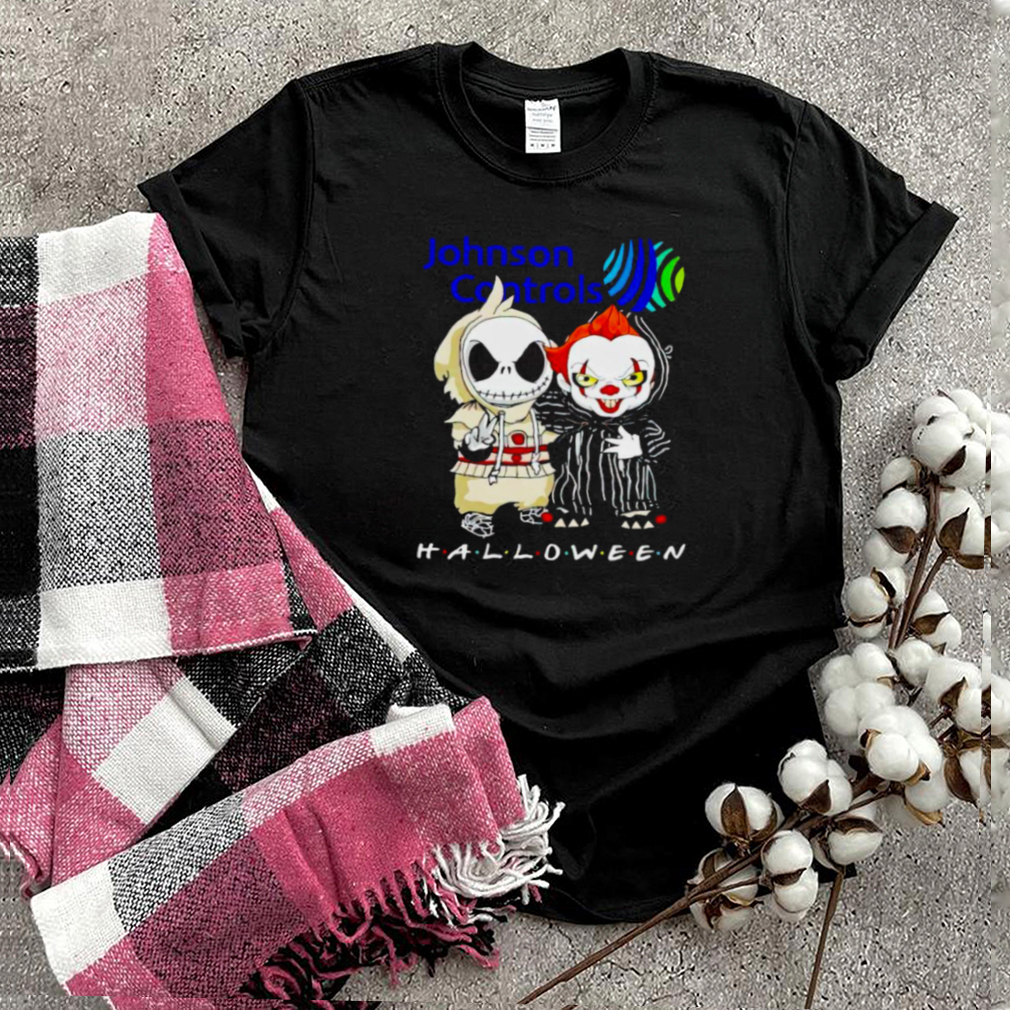 Jack Skellington and Pennywise Johnson Controls Halloween shirt