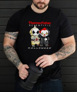 Jack Skellington and Pennywise Thermo Fisher Scientific Halloween shirt