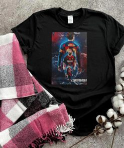 Lionel Messi thank for the memories shirt