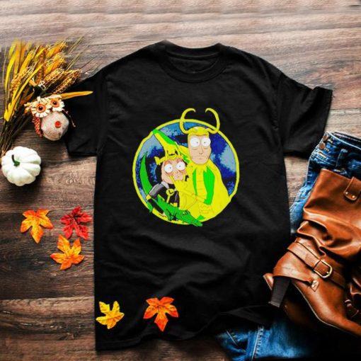Loki Rick Sanchez Time Variance Authority shirt