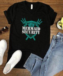 Mermaid Security Logo T Shirt