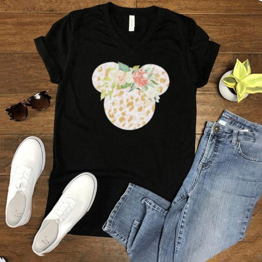 Mickey Flower Shirt