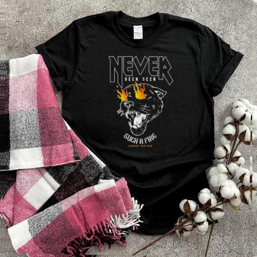 Never Been Seen Such A Fiae Black Wild Legend Panther T Shirt