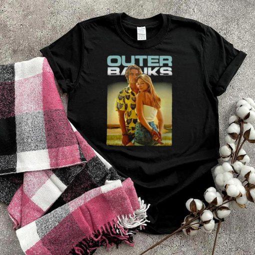 Outer Banks John B And Sarah Poster T shirt