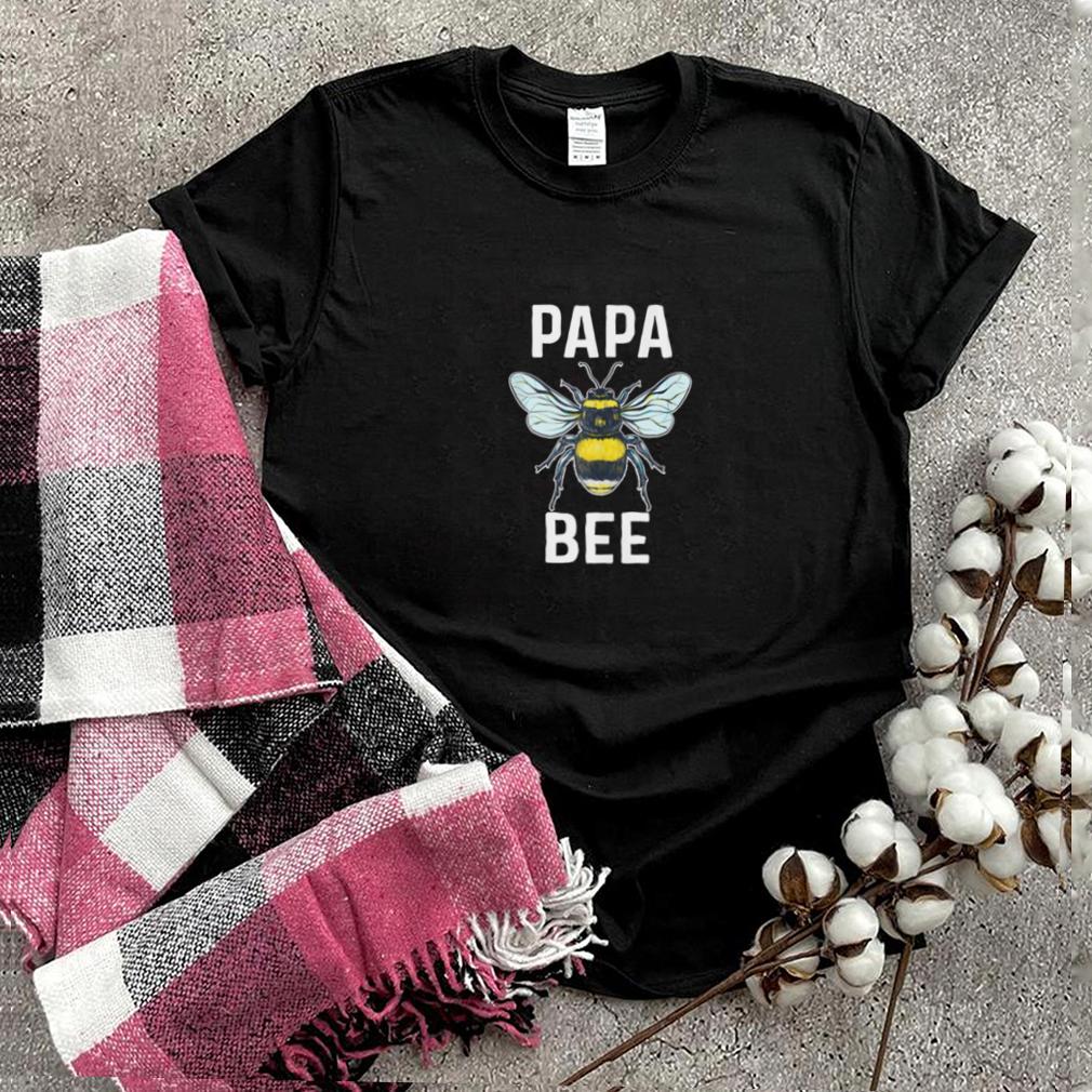 Papa Bee Honey Beekeeper Whisper Father Grandpa Shirt