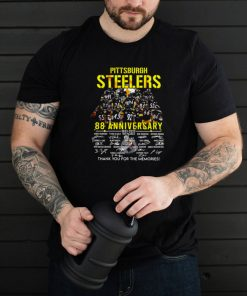 Pittsburgh Steelers 88th Anniversary 1933 2022 Signature Thank You For The Memories T shirt