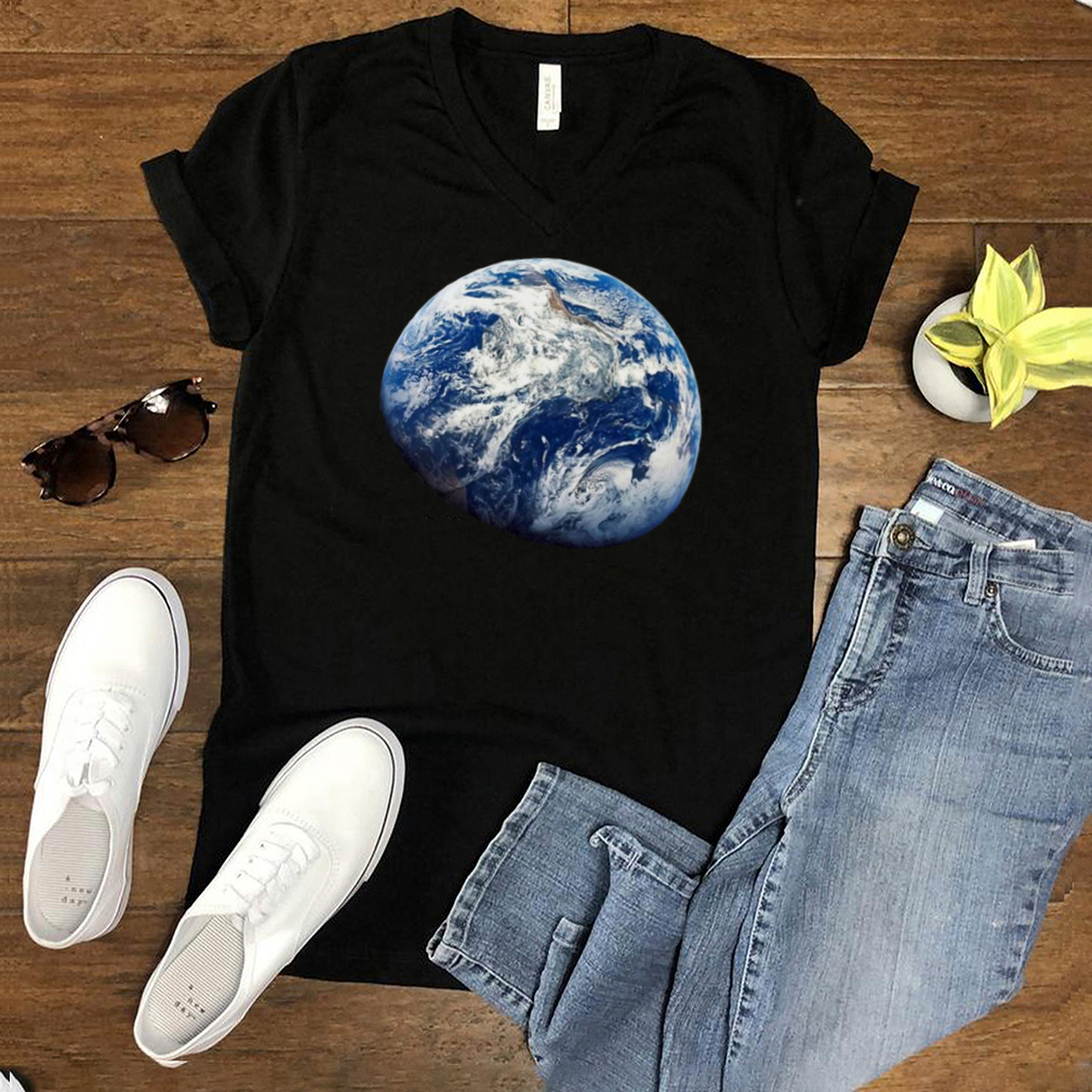 Planet Earth From Space Apollo 8 Mission Space T shirt