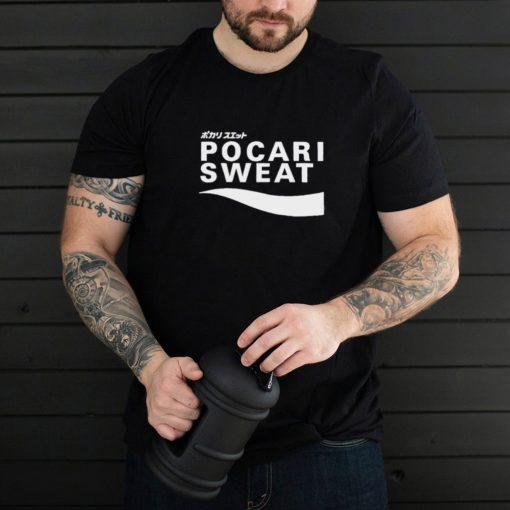 Pocari Sweat Japanese logo shirt