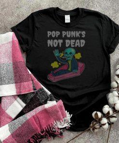 Pop Punks Not Dead Coffin Halloween T shirt