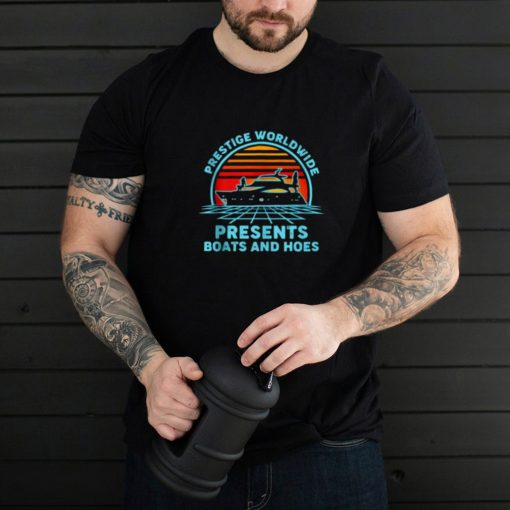 Prestige Worldwide Boats And Hoes Vintage T Shirt