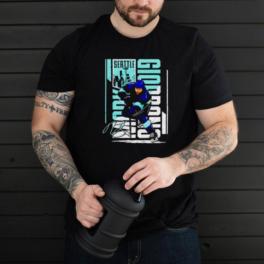Seattle Hockey Mark Giordano Vertical shirt