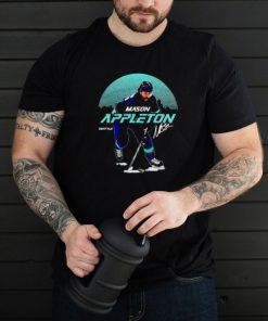 Seattle Hockey Mason Appleton Skyline signature shirt