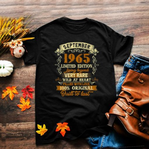 September 1965 Limited Edition Living Legend Very Rare Wild At Heart T Shirt