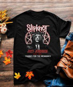 Slipknot joey jordison 1975 2021 thanks for the memories shirt
