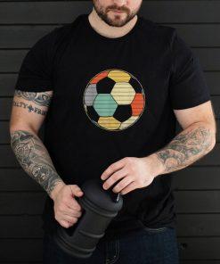 Soccer Player Ball Retro Vintage Style Coach Shirt