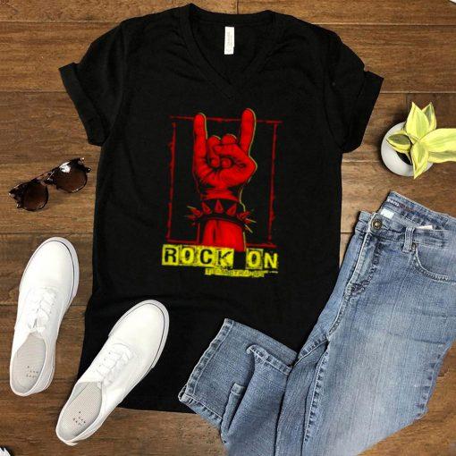 Teamstrange Rock On Devil Horns Metal Style T Shirt