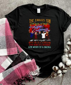 The Eagles Fan The Soul Of Music Hotel California 2021 Tour Signatures T shirt