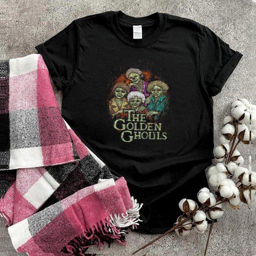 The Golden Ghouls Halloween Zombie shirt