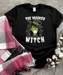 The Masked Witch Costume Spooky Halloween shirt