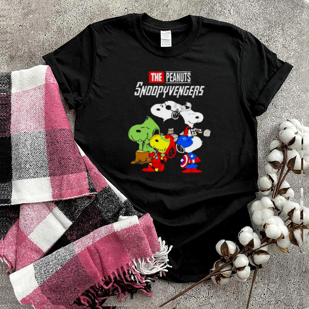 The peanuts snoopyvengers shirt