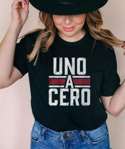 Uno A Cero shirt