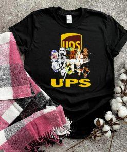 Ups friends star wars yoda shirt