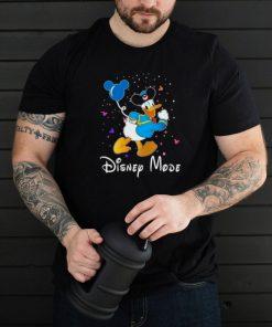 disney mode donald duck shirt
